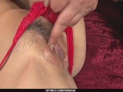 Busty Sumire Matsu Gets A Creampie After Group Sex