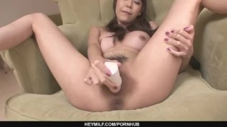 Busty Akari Asagiri Fucks Herself With Sex Toys sex-toy dildo milf asian oriental mom squirting sex-toys heymilf mother japanese big-tits masturbating adult toys busty masturbates