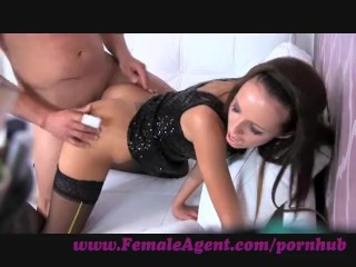 FemaleAgent. Cage fighter with pierced cock ribbed for pleasure