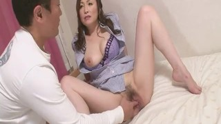 Skilled Miyama Ranko Makes Him Cum Without Penetration sex-toy dildo toys milf asian oriental mom blowjob amateur heymilf hairy mother japanese reality fetish adult-toys