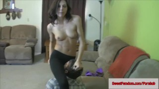 Sadie Holmes Femdom Comp PEGGING FISHNETS POV YOGA PANTS BALLBUSTING EDGING  strap on sweetfemdom.com ass pegging panties cbt femdom pov skinny handjob kink kinky babes stockings ballbusting yoga pants