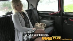FakeTaxi Mature blonde mom has the ride of her life
