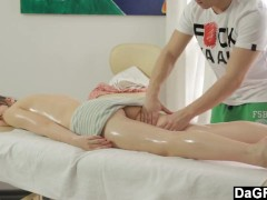 Teen Massage Turns Into Sensual Sex