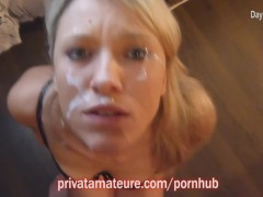 Best-of German amateur facials (compilation)