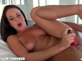 Mofos - My man convinced me to masturbate for him on camera