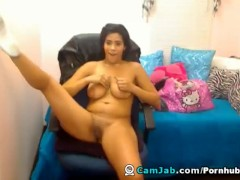 Big Boobs Babe Toys her Pussy