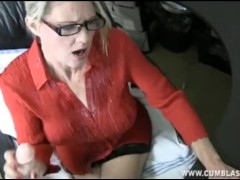 Computer Handjob And Cumshot