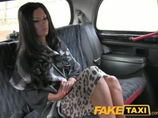 FakeTaxi Super hot posh totty in backseat fucking