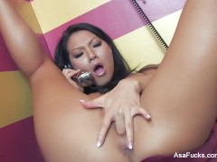 Asa Akira's Phone Sex Masterbation