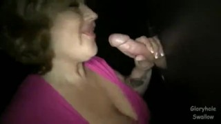 Gloryhole Swallow Jessi  orgasm big boobs homemade cumshot busty