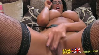 FakeAgentUK Tall secretary chick with incredible tits proves too much for  homemade british amazon point-of-view fakeagentuk audition blowjob titty-fuck casting hardcore office secretary huge-boobs fingering interview doggystyle facial