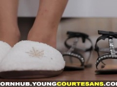 Young Courtesans – Courtesan fucked like a real girlfriend
