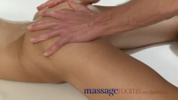 Massage Rooms Young teen girls cum hard getting fucked from behind