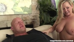 3 Hot Cougar Each Get Their Pussies Pounded