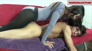 Jessica Robbin + Ashley Fires + Roxanne Rae + More Fucking a dude w Strapon  ass fuck ass fucking pegging tied strapon femdom blowjob hardcore pantyhose kinky threesome bondage fishnets deepthroat sweetfemdom.com girls fucking guys