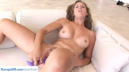 Rion Michaels Dildos Trimmed Pussy