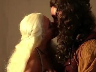 Anikka Albrite as Daenerys Targaryen Fucking  Game of Bones