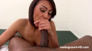 Castingcouch-HD.com - Ebony Rap Slut Casting