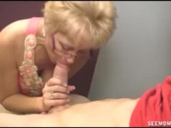 Blowjob In The Laundry Room
