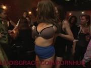 A Public Shaming For A Natural Big Tit Slut