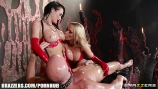 Brazzers - Best Hell ever, latex love  hidden brazzers 7743 big tits ukrainian ass choke raven girlongirl leash femdom blowjob mff big dick massage kinky babes latex deepthroat oil fake tits brazzers.com