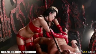 Brazzers - Best Hell ever, latex love  hidden brazzers 7743 big tits ass raven leash femdom blowjob mff big dick massage kinky babes latex deepthroat oil ukrainian choke fake tits brazzers.com girlongirl