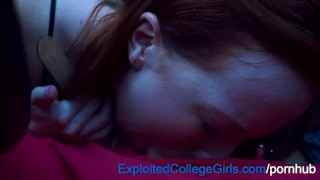 Preview 3 of Big Tit Redhead Fucked and Facialed on ECG