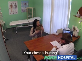 FakeHospital Doctor gives a strong orgasm to fit young lonely brithday girl