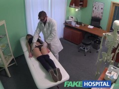 FakeHospital Hot 20s gymnast seduced by doctor and given creampie