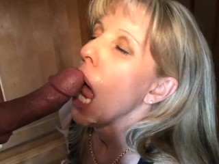 54 yo carol cox seduces a nervous young 19 yo guy
