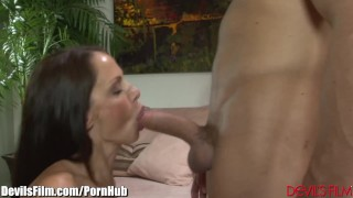 Preview 2 of DevilsFilm Guy Gets Caught Cheating with GFs Mom