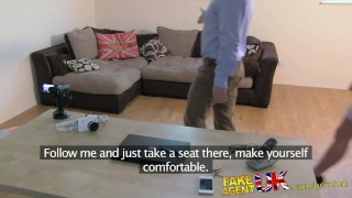 FakeAgentUK Fresh hot girl introduced to anal on casting couch  point of view ass fucking homemade clit rubbing british audition amateur casting hardcore office reality interview doggystyle fakeagentuk butt fucking