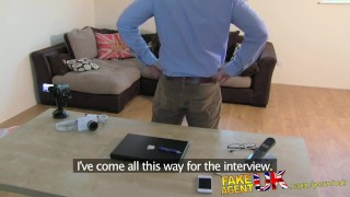 FakeAgentUK Fresh hot girl introduced to anal on casting couch  point of view ass fucking homemade clit rubbing british fakeagentuk audition amateur casting hardcore office reality interview doggystyle butt fucking