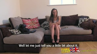 FakeAgentUK Fresh hot girl introduced to anal on casting couch  homemade clit rubbing british butt-fucking point-of-view fakeagentuk audition amateur casting hardcore office reality ass-fucking interview doggystyle