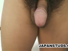 Katsuya Yoshimoto - Panty Clad Japan Guy Jerking Off
