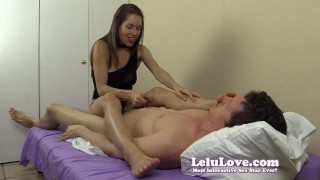 Lelu Love-Feet On Face Handjob  feet lelu love domination homemade femdom hardcore handjob amateur cfnm lelu cumshot choker soles fetish foot clothed