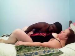 Leona and John -BBW Interracial Squirtin Hard Fuckin' n' Suckin' Orgasms