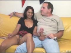 Teen Latina Loves Older Cocks