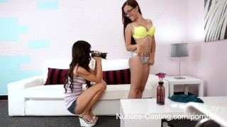 Preview 2 of Nubiles Casting - Will a messy facial get her the job?