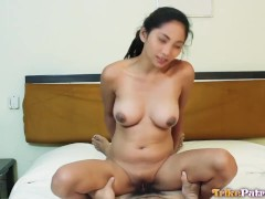 Hot Filipina babe with amazing tits gets her pussy stuffed with cock