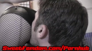 Teased and Abused by Orias  tatoos kink kinky tattoos sweetfemdom ballbusting cock tease ball torture piercings cbt redhead