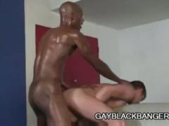 Braxton Bond: Hardcore Black Cock On White Ass Penetration