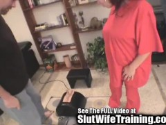 Pregnant Latina Fucked by 2 White Cocks