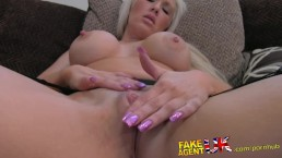 FakeAgentUK Dirty hot blonde l