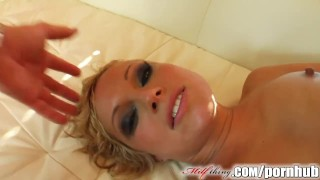 Milf Thing sexy mature fucks two guys  milfthing.com big tits ass spanking babe cuckold femdom mom blonde cumshot skinny big dick european threesome facial pussy eating