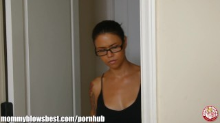 MommyBB Dana Vespoli caughts her stepson jerking off!  deep throat hard face fuck face fuck deepthroat gag mom tattoo small tits skinny young teens cock sucking throat fuck mother deepthroat mommyblowsbest.com blow job dana vespoli milf sucking cock tyler nixon