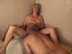 Pissing on my Pussy, and then Pissing on a Cock!