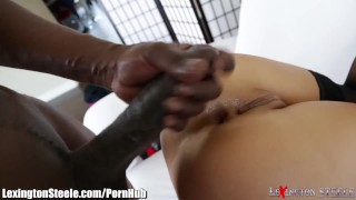 Asa Akira Fucked by 11 Inch Black Cock in Ass bbc gaping swallow sexy black asian blowjob cumshot deepthroat lexingtonsteele.com tattoo japanese big-tits interracial big-dick tattoos stockings skinny facial