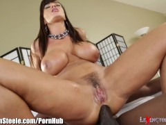 Lisa Ann Fucked by Lexington Steele's 11 Inch Black Cock