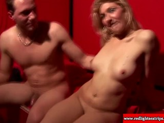 Sexy and real dutch slut giving cocksuck to lucky tourist in Amsterdam